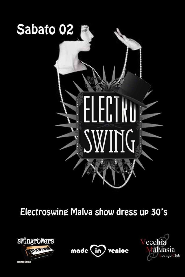 Electroswing Malva show dress up 30s